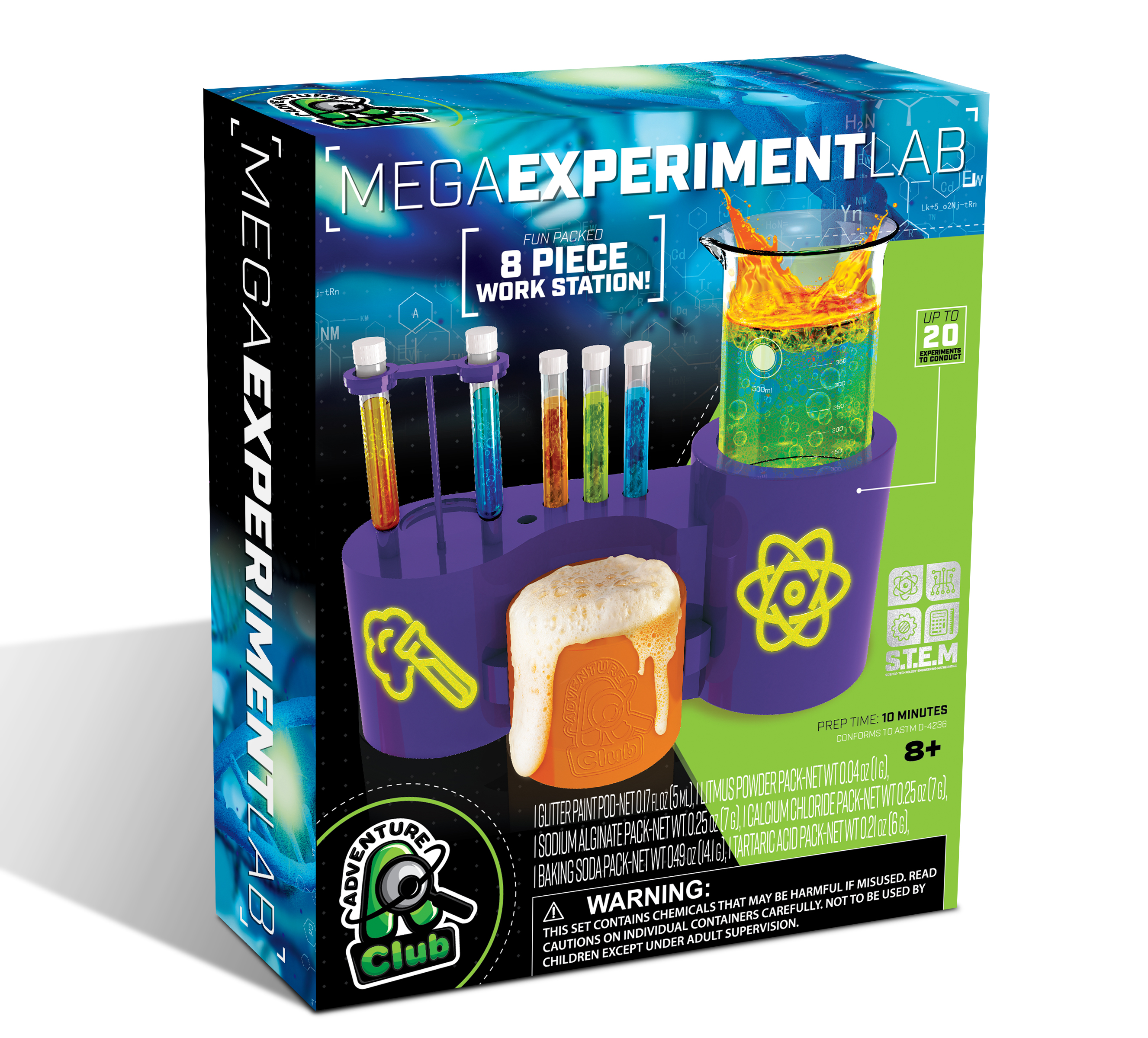 MEGA EXPERIMENT LAB